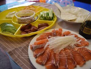 手巻き寿司の写真・画像素材[3659771]