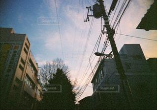 街の空の写真・画像素材[2500597]