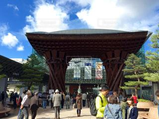 金沢駅前の写真・画像素材[276271]