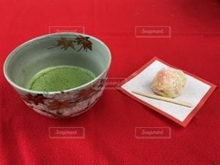 抹茶と和菓子の写真・画像素材[1620032]