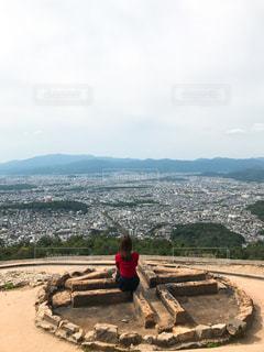 大文字山の写真・画像素材[1620402]