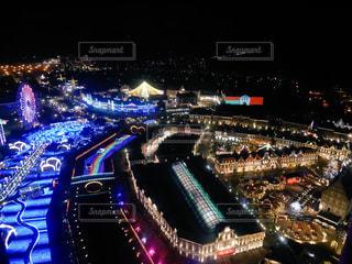 都市の夜景の時間の写真・画像素材[901612]