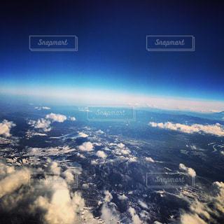 飛行機からの眺めの写真・画像素材[947370]