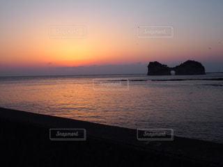 夕日の写真・画像素材[2071392]