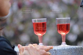 いちごのワインの写真・画像素材[1147889]
