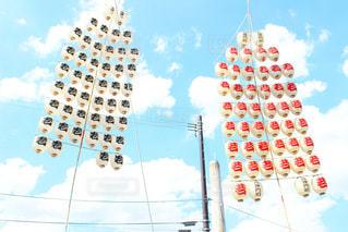 初夏の空に浮かぶ竿頭の写真・画像素材[2271491]