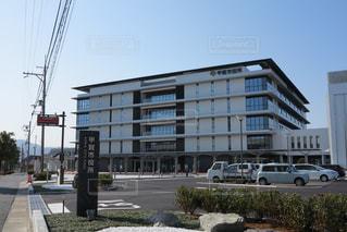 甲賀市役所 外観の写真・画像素材[1016029]