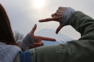 富士山の写真・画像素材[383125]