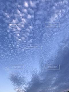 空には雲のグループ - No.720415