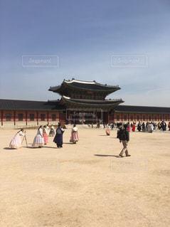 景福宮の写真・画像素材[1134149]