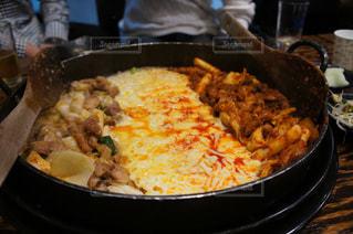 ソウルの明洞で食べたチーズタッカルビ - No.1138522