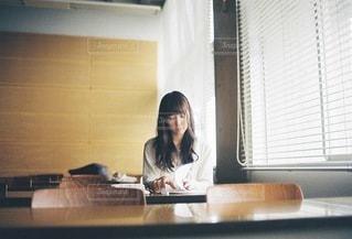 勉強中の大学生のの写真・画像素材[3922]