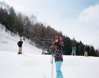 スキー女子の写真・画像素材[352276]