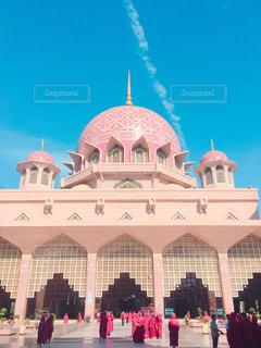 マレーシアのピンクモスクの写真・画像素材[788579]