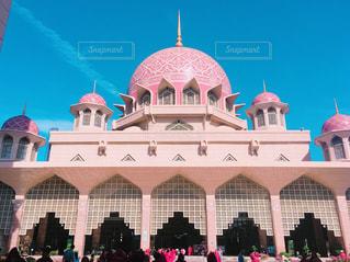 マレーシアのピンクモスクの写真・画像素材[788581]