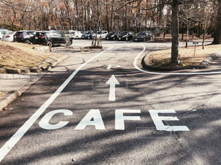 「CAFE」のサインの写真・画像素材[1634272]