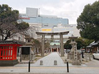 福岡市内の警固神社の写真・画像素材[1741256]