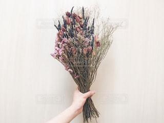 ドライフラワーの花束の写真・画像素材[1784560]