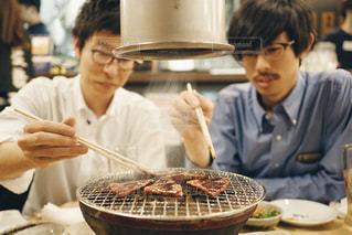 焼肉男子会の写真・画像素材[2059876]