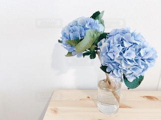 紫陽花の花束の写真・画像素材[3304399]