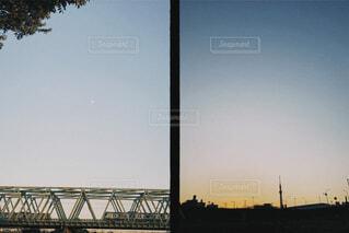 夕方のハーフ写真の写真・画像素材[3818087]