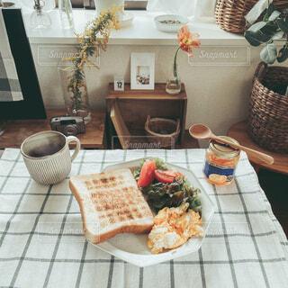 おうち朝ごはんの写真・画像素材[4249802]