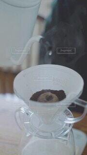 コーヒーを淹れるの写真・画像素材[4631161]