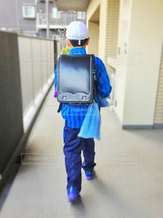 小学生 通学 ランドセルの写真・画像素材[431669]
