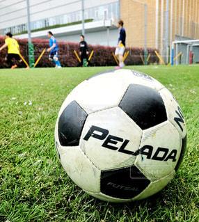 サッカーボールの写真・画像素材[456064]