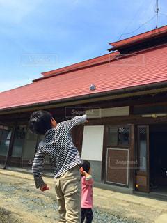 屋根の写真・画像素材[556191]