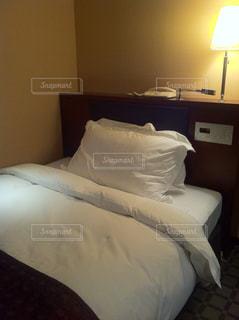 シングルベッドの写真・画像素材[331480]