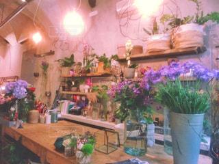 お花屋さんのテーブルの写真・画像素材[1227223]