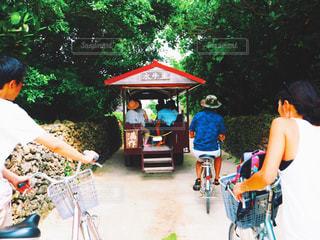 竹富島の町並みの写真・画像素材[892291]