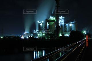 工場夜景の写真・画像素材[985447]