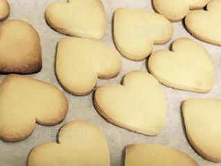 ハートのクッキーの写真・画像素材[295526]