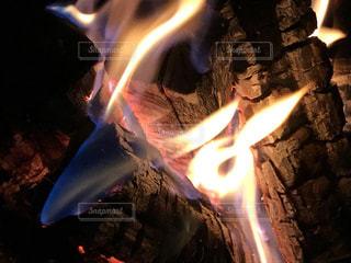 近くに火のの写真・画像素材[1463438]