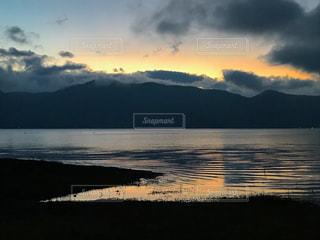 本栖湖の写真・画像素材[1554989]