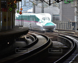 新幹線はやぶさの写真・画像素材[815220]