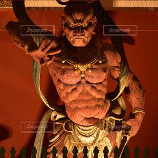 仁王像  吽形の写真・画像素材[969556]