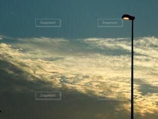 夕暮れの風景の写真・画像素材[1013347]