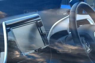 車の運転席の写真・画像素材[1034917]