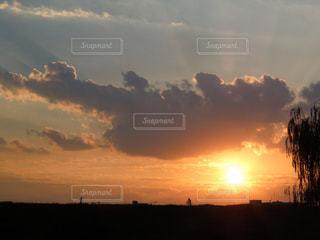 夕焼の空の写真・画像素材[1036013]
