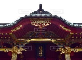 煌びやかな根津神社の写真・画像素材[1143569]