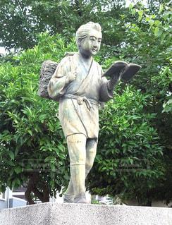 二宮尊徳像の写真・画像素材[1256337]