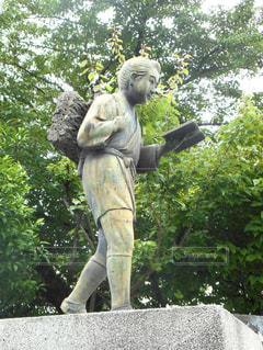 二宮尊徳像の写真・画像素材[1256338]