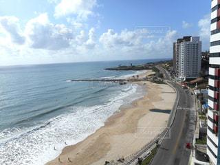 ホテルからみたコパカバーナビーチの写真・画像素材[1398890]