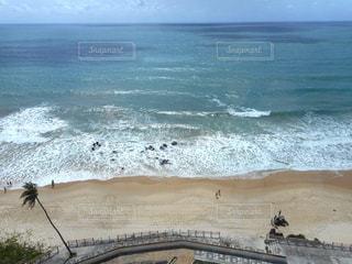 ホテルからみたコパカバーナビーチの写真・画像素材[1398894]