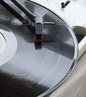 レコードプレーヤーの写真・画像素材[3205757]