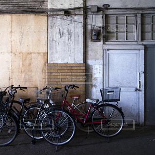 自転車置き場の写真・画像素材[287260]