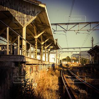 都会のローカル線の写真・画像素材[288177]